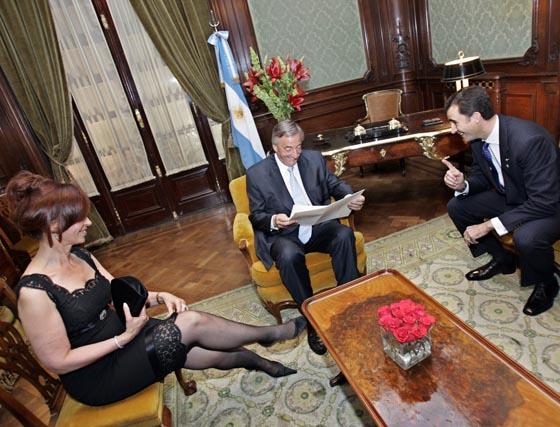 La nueva Presidenta de Argentina