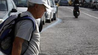 Camino envejecido