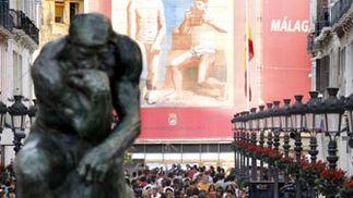 Rodin, en Sevilla tras visitar Málaga y Granada