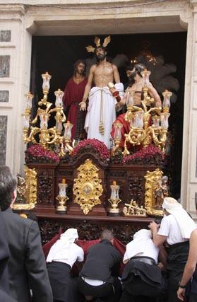 Domingo de Ramos y el Salvador