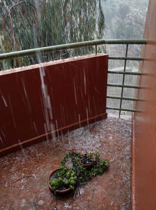 El temporal barre la Costa del Sol