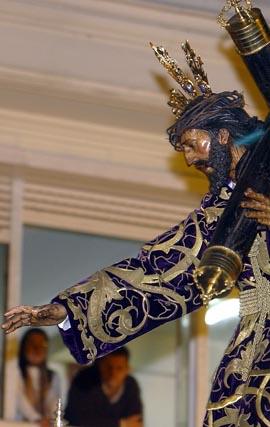 Jueves Santo a partir de la calle Feria