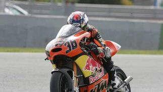 Primeros entrenamientos en Jerez