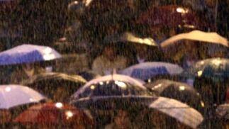 Temple de Manzanares bajo la lluvia ('08)