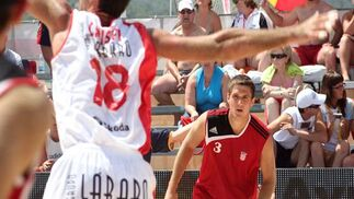 Torneo internacional de balonmano en Getares