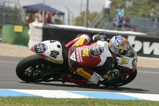 Thomas Lütti marcó el tercer mejor tiempo en 250 cc.  Foto: Jesús Marín