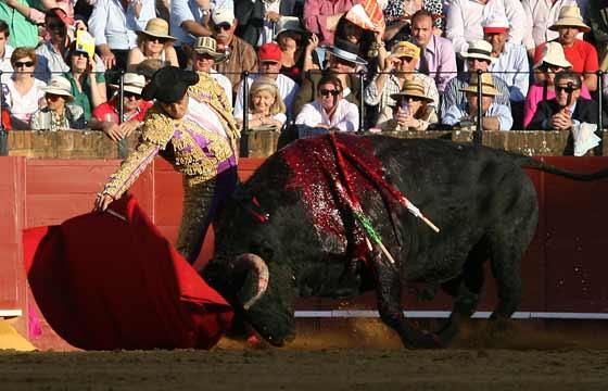 Esplá, con la muleta a la diestra.  Foto: Juan Carlos Muñoz