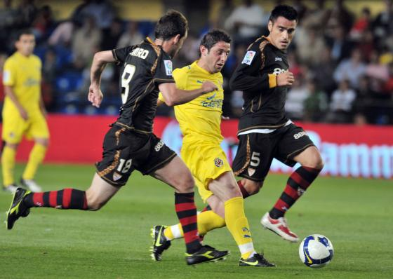 El Sevilla luchó para posicionarse en un puesto de Champions.  Foto: LOF, EFE