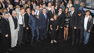 El equipo y el reparto de 'Star Trek'.  Foto: Reuters / AFP Photo / EFE