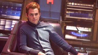 James T. Kirk (Chris Pine).  Foto: Paramount Pictures