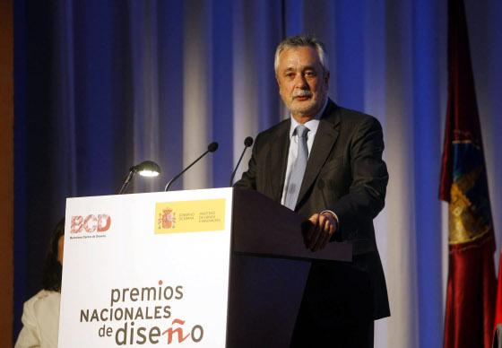 El presidente de la Junta, José Antonio Griñán realizaba su primera visita oficial a Córdoba tras su investidura.  Foto: D.C.