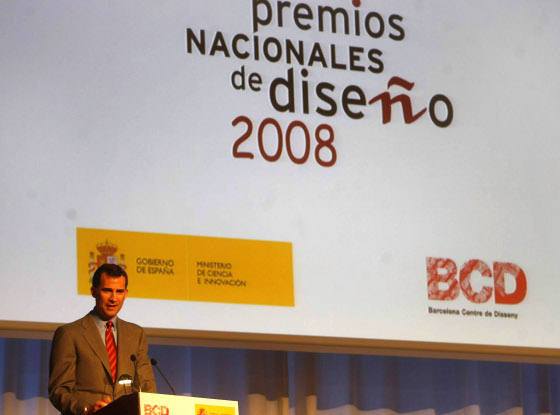 """El Príncipe de Asturias, Don Felipe de Borbón, reivindicó ayer que España haga un decidido esfuerzo para conseguir una """"cultura empresarial"""".  Foto: D.C."""