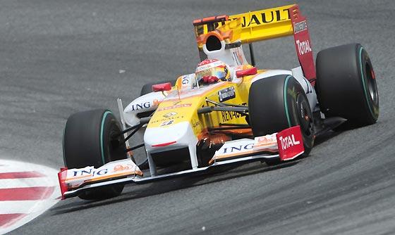 Alonso (Renault).  Foto: Reuters / AFP Photo / EFE