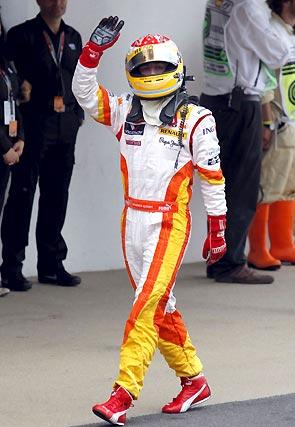 Fernando Alonso, tras la carrera.  Foto: Reuters / AFP Photo / EFE