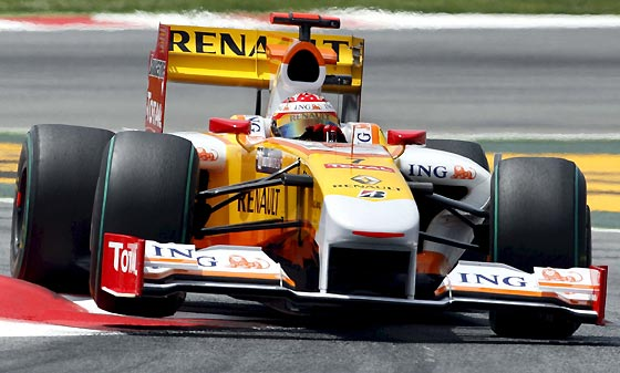 Fernando Alonso (Renault).  Foto: Reuters / AFP Photo / EFE