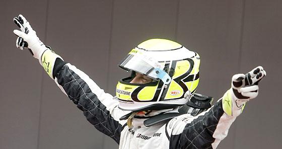 Jenson Button celebra su victoria.  Foto: Reuters / AFP Photo / EFE