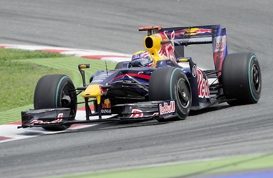 Webber (Red Bull).  Foto: Reuters / AFP Photo / EFE
