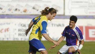 Un Cádiz plagado de habituales suplentes vence en Guadalajara (1-2) en un partido muy serio donde varios de sus jugadores se reivindicaron  Foto: LOF