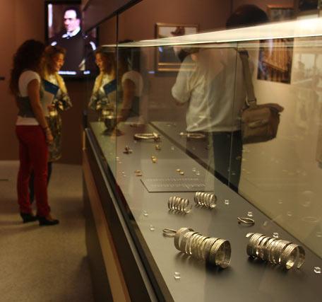 Detalle de algunos de los tesoros arqueológicos de la Hispanic Society of America.  Foto: José Ángel García