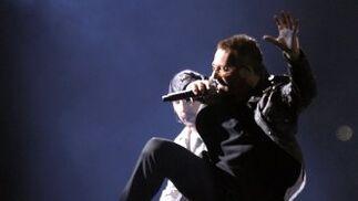 U2 lo ha dado todo en su primer concierto de la gira 360º.  Foto: Reuters