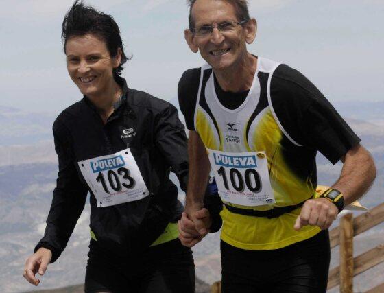 Los participantes no son sólo atletas que tras esta maratón ponen rumbo a otro destino. Lo positivo de la carrera es que cualquiera puede competir.  Foto: Miguel Rodriguez