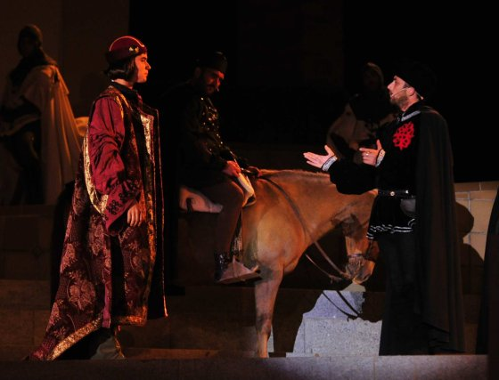 Representación de 'Fuenteovejuna'.  Foto: Sanchez Ruiz