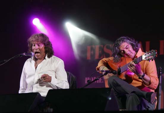 José Mercé en el Auditorio Municipal de Málaga.  Foto: PUNTO PRESS