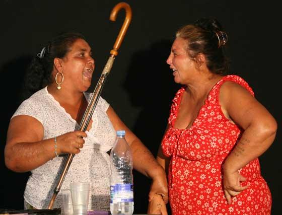 Todas están entusiasmada con la propuesta de TNT Atalaya.  Foto: Victoria Hidalgo