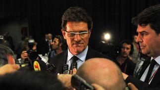 El entrenador de Inglaterra, Fabio Capello.  Foto: Agencias