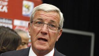 El entrenador de Italia, Marcelo Lippi.  Foto: Agencias