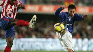 Un nuevo lance entre Perea y Orellana  Foto: Miguel Angel Gonzalez