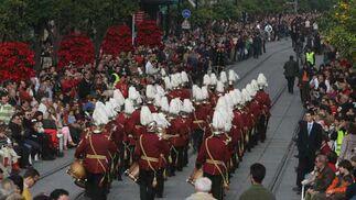 Los uniformes de las bandas llamaron poderosamente la atención de los asistentes.  Foto: Jose Angel Garcia