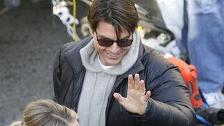 Tom Cruise y Cameron Diaz.  Foto: Antonio Pizarro