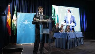 Rafael Höhr, responsable de Joly Digital, durante la entrega de premios.   Foto: Juan Carlos Muñoz
