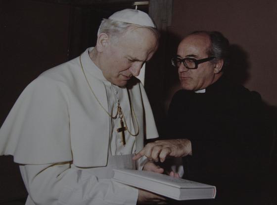 Imágenes del padre Javierre