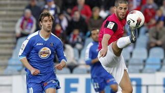 El Málaga remonta al Getafe a domicilio (1-3). / EFE