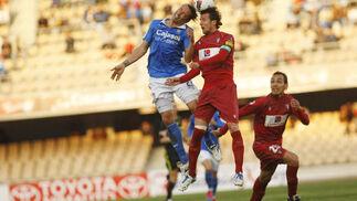 El Córdoba vence a domicilio al Xerez (1-2). / Juan Carlos Toro