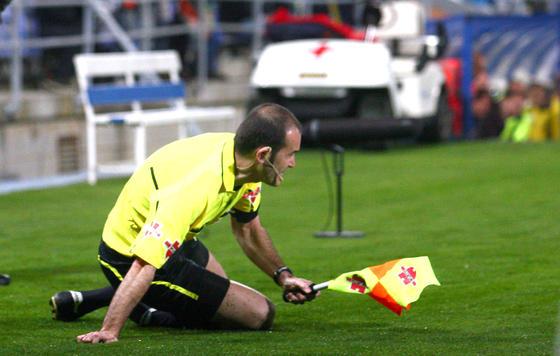 El Recreativo se encasquilla ante el Barcelona B en el Nuevo Colombino. / Josué Correa