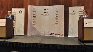 Intervención de José Antonio Griñán, presidente de la Junta de Andalucía.  Foto: JC Vazquez
