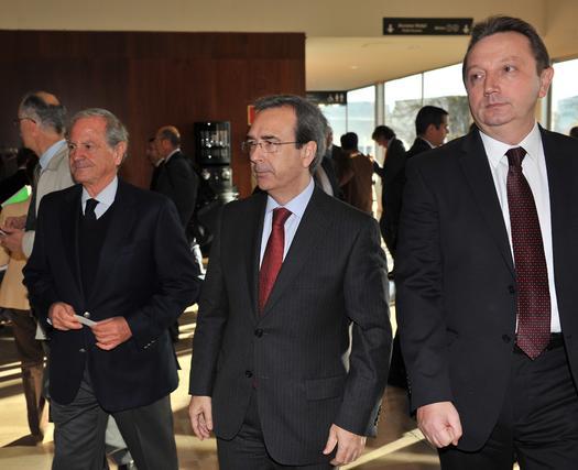 Juan Carlos Fernández, director general del Grupo Joly, y Manuel Recio.  Foto: Juan Carlos Vazquez y Victoria Hidalgo