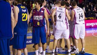 Las imágenes del Barcelona Regal-Banca Cívica