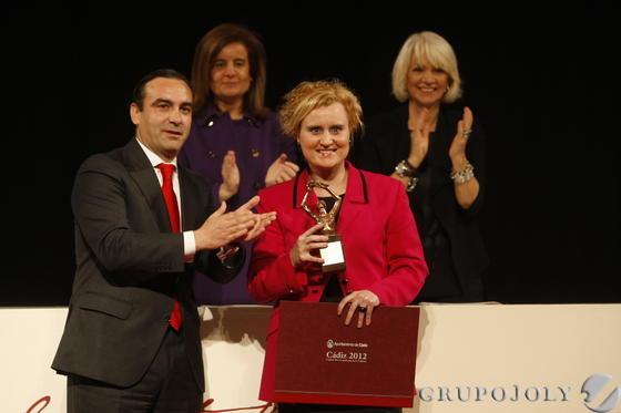 Entrega de los premios Cortes de Cádiz 2012.   Foto: Jose Braza