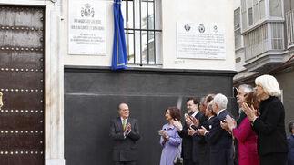 Acto de conmemoración del Bicentenario de la Constitución de 1812.  Foto: Lourdes de Vicente, Joaquin Pino y Jose Braza