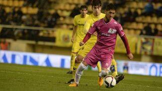 Machado avanza con el balón.   Foto: LOF