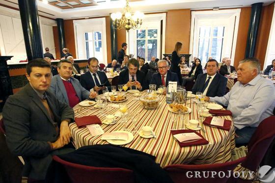 Alberto Calderón, Pascual García Prat, Agustín Samaniego, José Eslava, Nacho González, Antonio Suárez y Luis Faraco.  Foto: Alberto Domínguez.