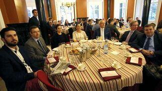 Francisco Motero, Prudencio Navarro, Rocío Sánchez-Andrada, María José Marfil, Antonio Aguado, José Daza y Francisco José Martínez.  Foto: Alberto Domínguez.