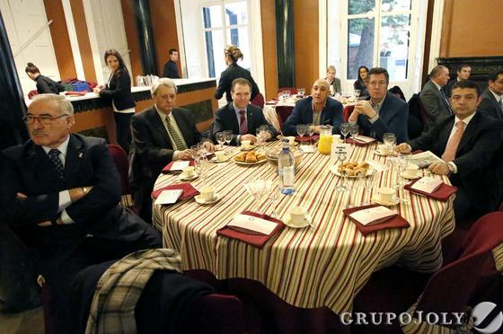 José España, Francisco Revuelta, Javier Mateo, Juan Manuel Quilón, Manuel Antonio Conde y Augusto Romero.  Foto: Alberto Domínguez.