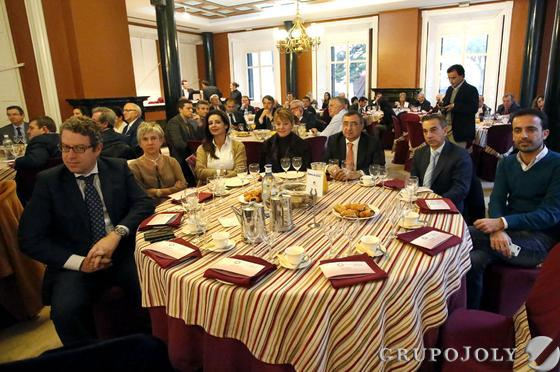 Francisco Riquel, Mabel Valle, Carmen Sacristán, Pilar Miranda, Manuel Alborch, Agustín Martínez y Javier Pons.  Foto: Alberto Domínguez.