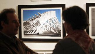 Fotografía en la Fundación Gala. El fotógrafo Manuel Lama Baena expone en arteSpacio imágenes de casi una veintena de centros de arte contemporáneo de España hasta el próximo 29 de abril.   Foto: José Martínez