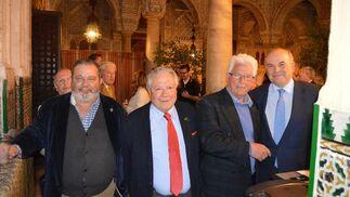 Kiko Zamora, Enrique Maestre, Hans Joseph Artz y Rafael Sánchez Saus.  Foto: Ignacio Casas de Ciria